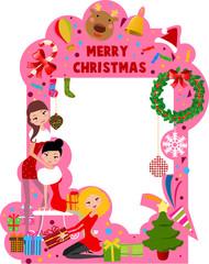 christmas frmae