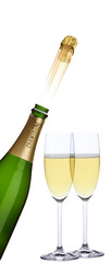 Champagnerkorken