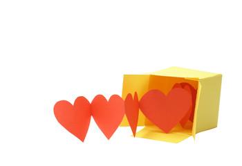 Hearts In Box