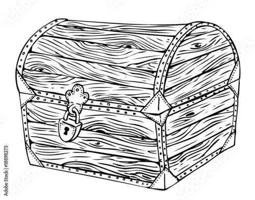 Kiste truhe chest schatztruhe piraten schatz - Schatzkiste basteln vorlage ...
