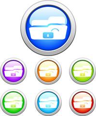 Color web buttons