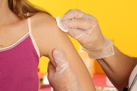 Vaccin et désinfection
