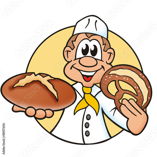 """""""Bäcker Brot und Brezel"""" Stockfotos und lizenzfreie Bilder"""
