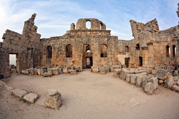 Syria - Church of St. Simeon - Qal'a Sim'an