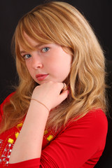 gorgeous blonde gir