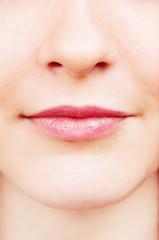 closeup of a female face