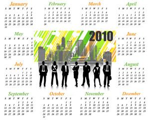 2010 business calendar