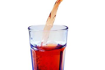 Getränk eingießen
