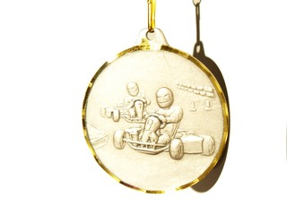 Médaille brillante