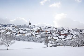 winter village