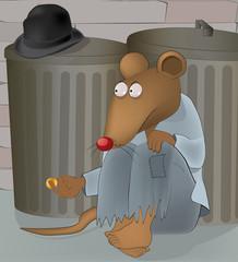 rats at garbage tanks