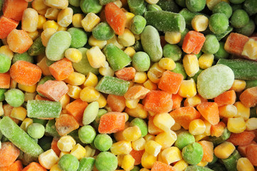 Frozen Frosty Vegetables