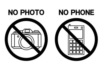 NO PHOTO NO PHONE