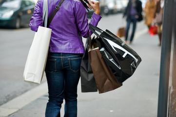 Donna e shopping