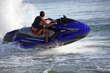 Acrylic Prints Water Motor sports Jet ski sport