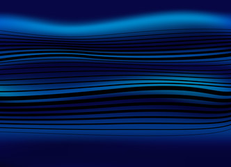 Blue energy, vector background