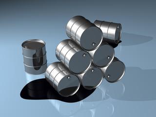 Serie3D - Baril pétrole - The end (#8)