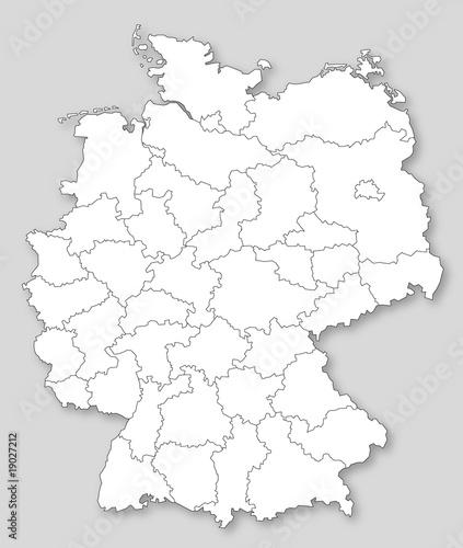 Postleitzahlregionen Zweistellig In Deutschland Stock Image And
