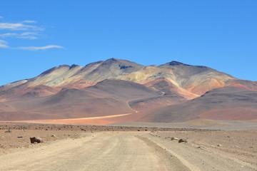 Montagnes et couleurs
