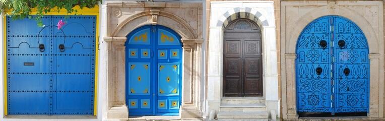 Poster de jardin Tunisie Portes de Sidi Bou Said