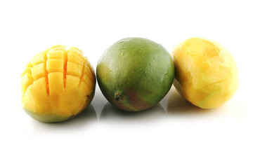 three mango in row
