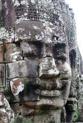 King Jayavarman. Temple of Bayon, Angkor, Siem Riep, Cambodia.