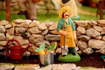 """santon """"jardinier"""""""