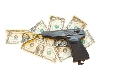 gun + money