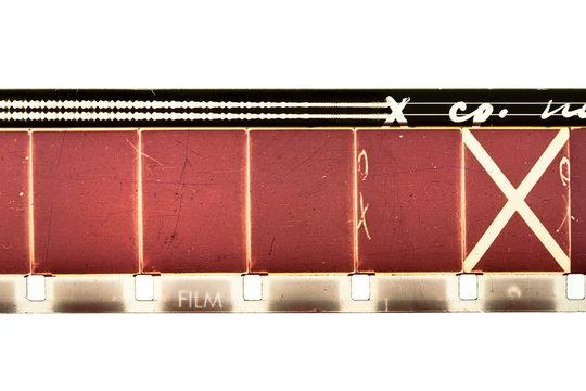 16mm film strip