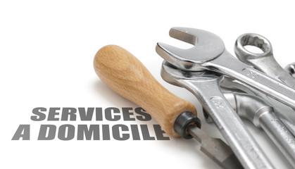 services à domicile, travaux d'intérieur, service à la personne