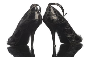 black girl shoe