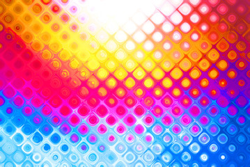 Bright multicolor abstract background with a pattern
