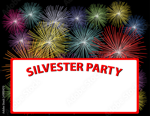 silvester party plakat stockfotos und lizenzfreie. Black Bedroom Furniture Sets. Home Design Ideas