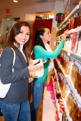 Woman Shopping during Holidays