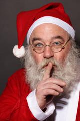 Der Weihnachtsmann flüstert