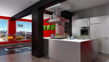 Magnificent urban designer kitchen
