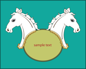 Horse Banner design