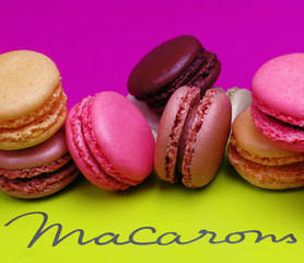 Poster Macarons macarons