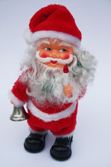 Weihnachtsmann mit Adventsglocke