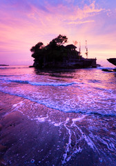 The Tanah Lot Temple, Bali, Indonesia.