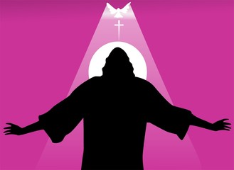 Illustration of Jesus Christ