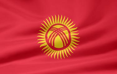 Flagge von Kirgisien