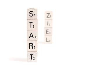 Start und Ziel