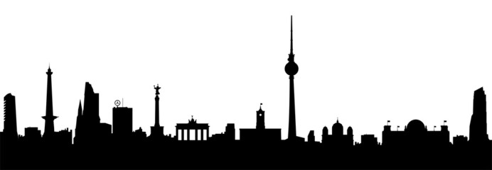 Berlin Skyline Vektor