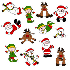 Cute Christmas Santa Set 06