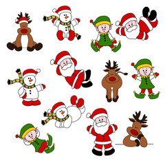 Cute Christmas Santa Set 05