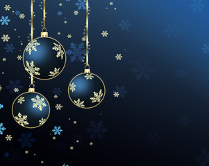 Christmas and  New Year's Eve background
