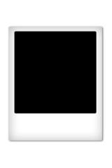 New blank polaroid