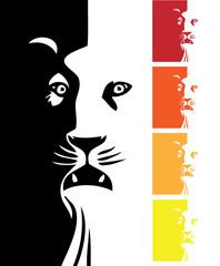 Design of a lion head