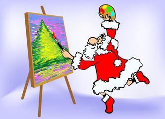 Santa_artist